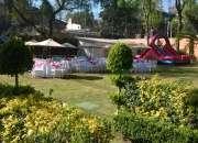 Jardin sanjeronimo con banquete