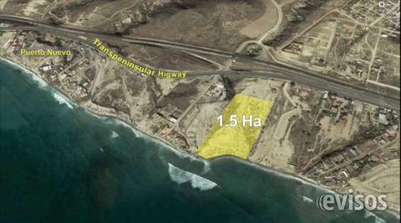 Venta de terreno en puerto nuevo rosarito