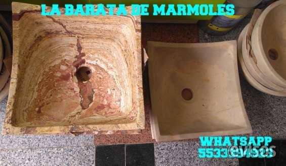 !! fabrica de lavabos de marmol !!