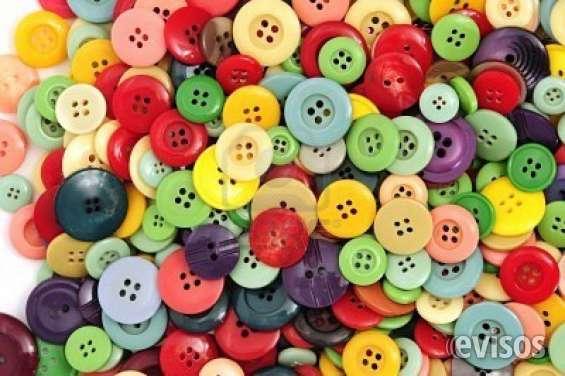 Boneterias pega y sella botones diferentes tamaños desde casa