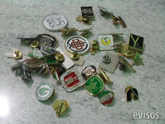 Pin pines fistol metalico, medallas, monedas, collares, gafetes, yokadi