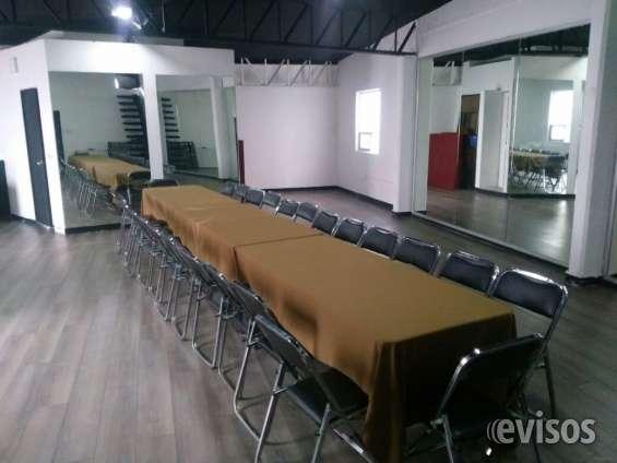Salas de capacitación para 50 personas