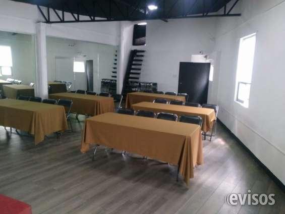 Salón en renta para diversas clases