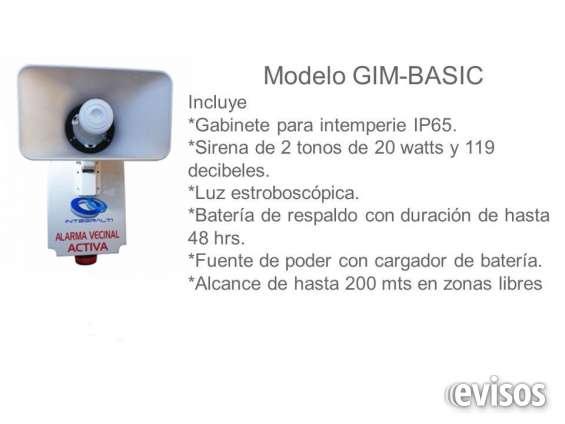 Alarma vecinal modelo basic