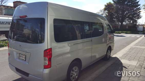 Nissan urban de pasajeros entrega inmediata