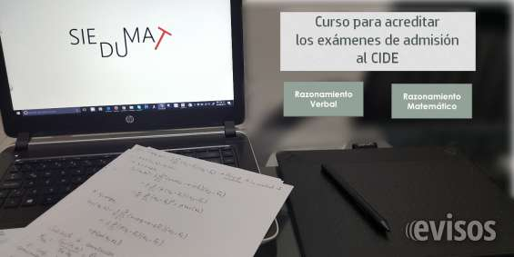 Curso para el examen de admisión al cide