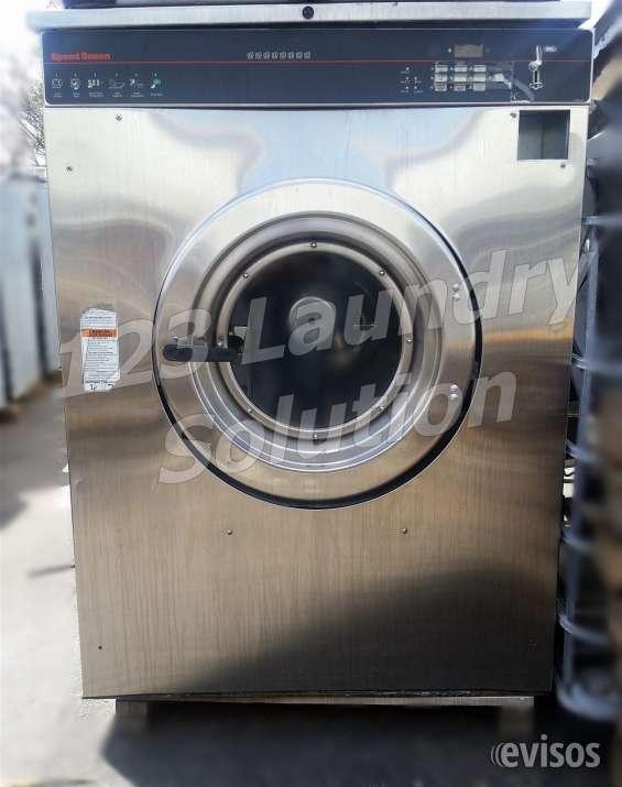 Lavadora de carga frontal speed queen de 80 lbs