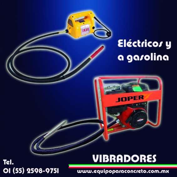Venta y renta de vibradores para concreto diferentes marcas en cdmx