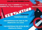 Festival Cervantino 2017 Paquetes