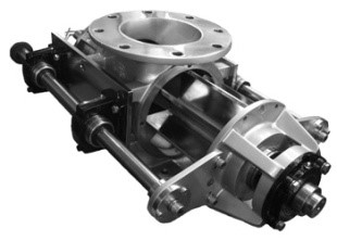 Válvula rotatoria de limpieza rápida (quick take apart)