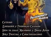 Halloween - Día de Muertos: Shows, peformance, animadores, espectáculos