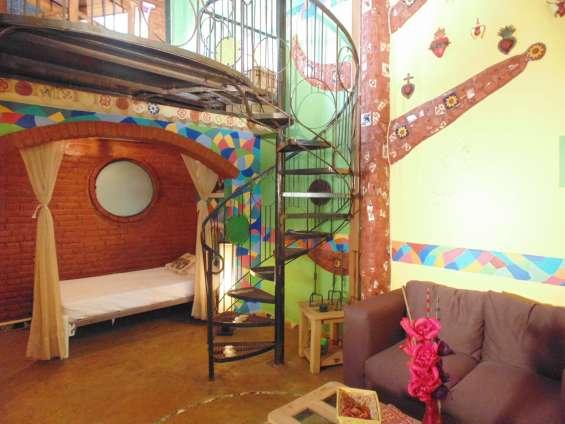 Casa tistik, habitaciones suites amuebladas, con cocineta, en el sur cdmx