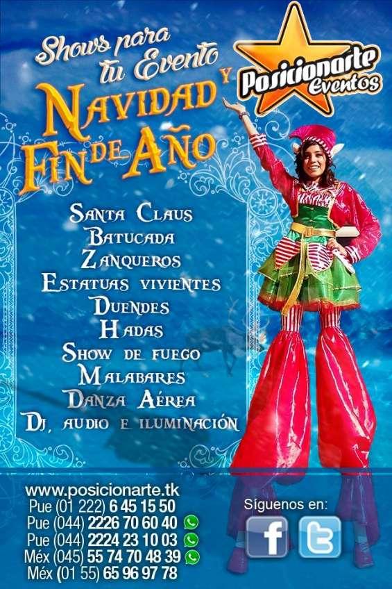 Shows navidad y fin de año / performances / oaxaca