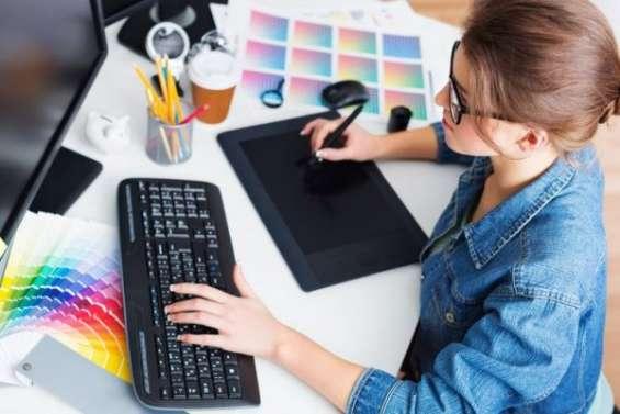 Se solicita diseñadora grafica con disponibilidad de tiempo completo.
