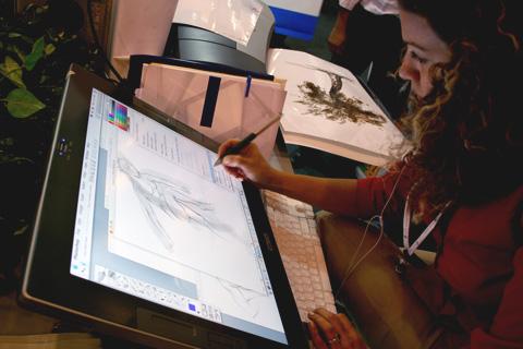 Diseñadora grafica para publicar en web