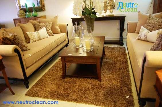 Lavado de salas, lavado de alfombras y tapicería en general.