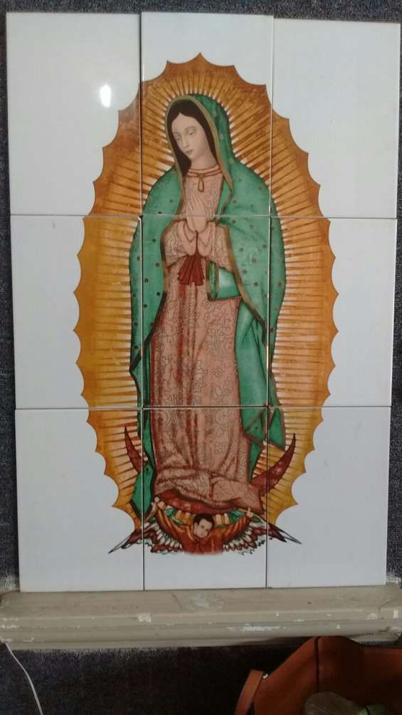 Virgen de guadalupe azulejo
