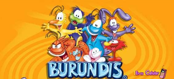 Burundis tarjetas embolsalas y pega etiquetas