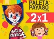 PALETA PAYASO ARMA PROMOCIONES ¡¡URGE!!