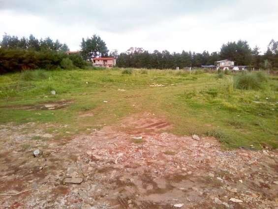 Terreno plano en el fresno cerca de avandaro y valle de bravo