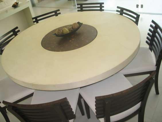 Mesa redonda pergamino