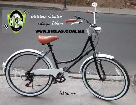 Bicicleta vintage negra  la original
