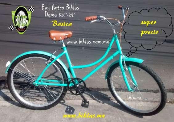Bicicleta modelo ingles  la original  biklas