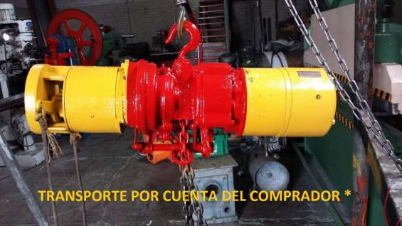 Polipasto electrico de cadena 1.5 toneladas