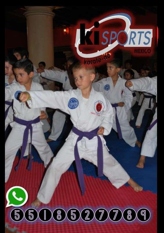 ¿quieres entrenar karate do? ven con nosotros!