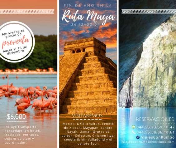 Fin de año 2017 en la ruta maya