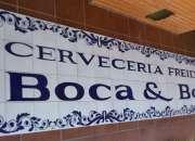 logotipos y murales en azulejo vitrificado para exteriores antigrafiti