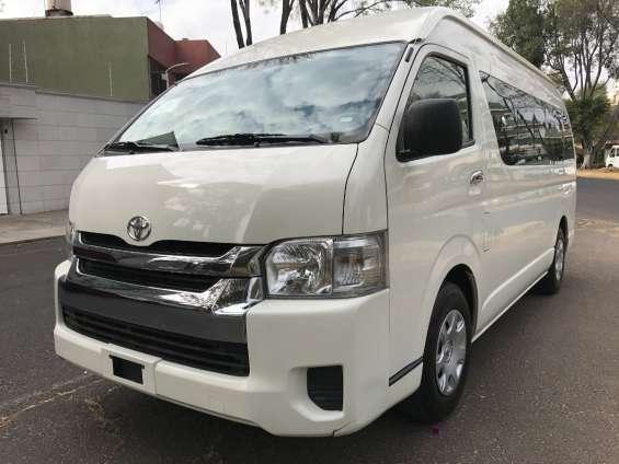 Toyota modelo hiace 2014-.ñ
