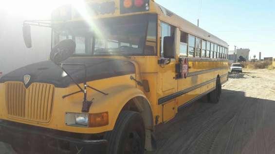 Remato camion escolar nacionalizado