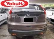 Honda crv año 2014 color marron en exelente condiciones aire mp3 asintos de tela