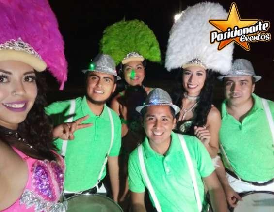 Batucada show fiestas y eventos en morelos