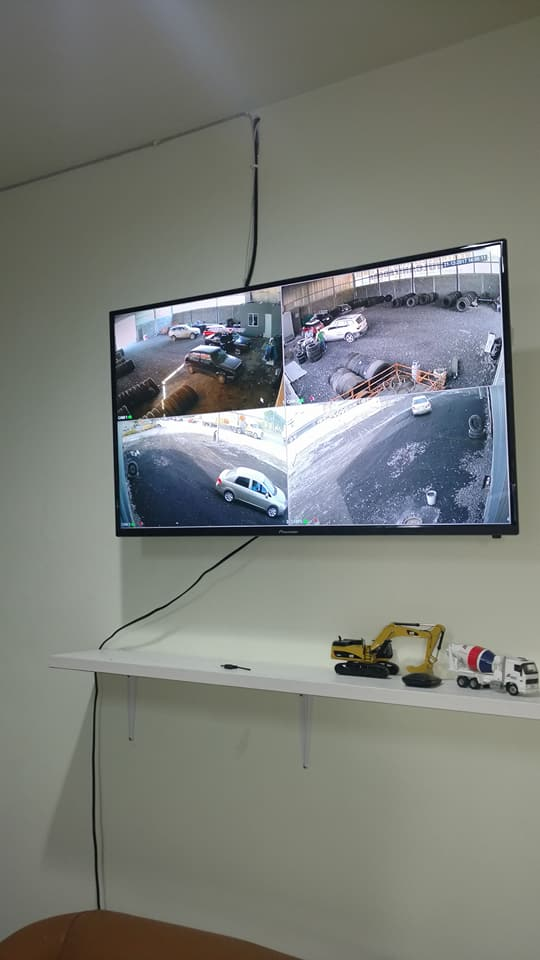 Kit 4 cámaras seguridad de 4 mgpx en monterrey