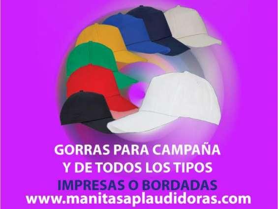 Gorras bordadas