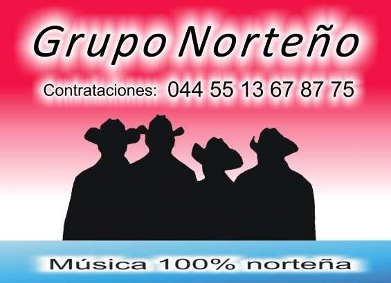 Grupo norteño música 100% norteña 55 13 67 87 75
