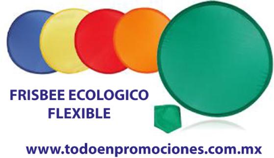 Frisbees personalizados plegables