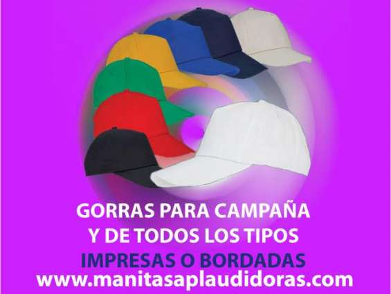 Gorras impresas personalizadas