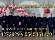 Servicio de meseros df y estado de mexico