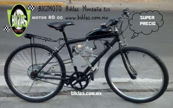 Motobici negra montaña r26