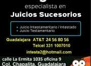 ASESORÍA JURÍDICA EN ASUNTOS DE INTESTADOS GUADALAJARA