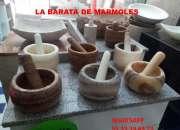 !!!  MORTERO DE MARMOL  Y ONIX CON PISTILO !!!