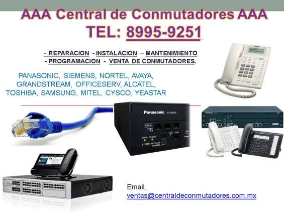 Reparacion de conmutador telefonico