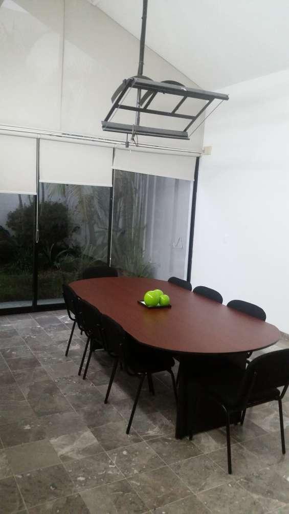 Sala de juntas optimas para tus juntas empresariales