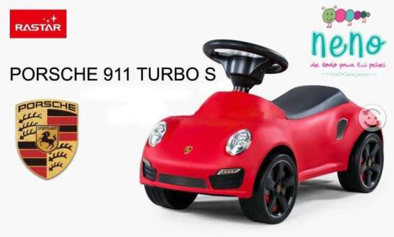 Porsche 911 turbo s, montable, corre pasillos