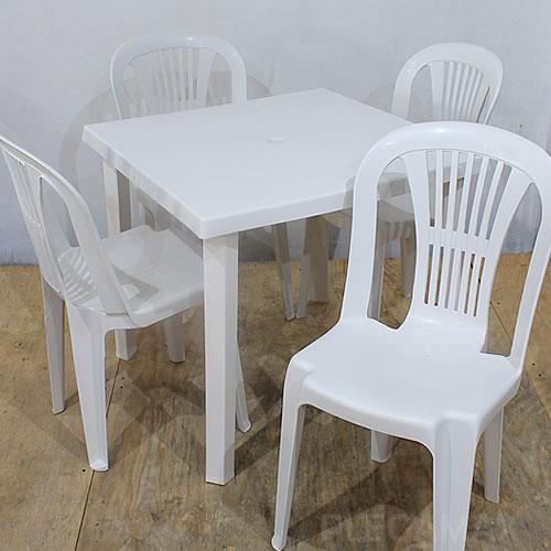 Sillas y mesas de plastico plegamax