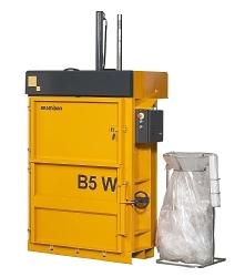 Compactadora de cartón, plásticos, textiles, latas