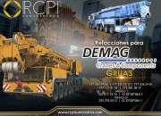 Refacciones Para Grúas DEMAG mod. HC810, MC180, MC300